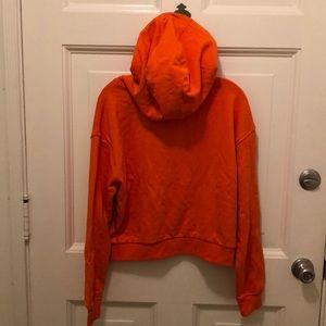 0528bdcac5 🆕 Orange Vans Cropped Boulder Hoodie NWT